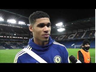 Ruben Loftus Cheek on his Chelsea debut / Kurt Zouma predicts Champions League glory for Chelsea