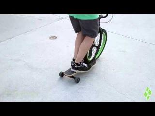 Level 2 - Sbyke Scooter Training: Nose Pivot
