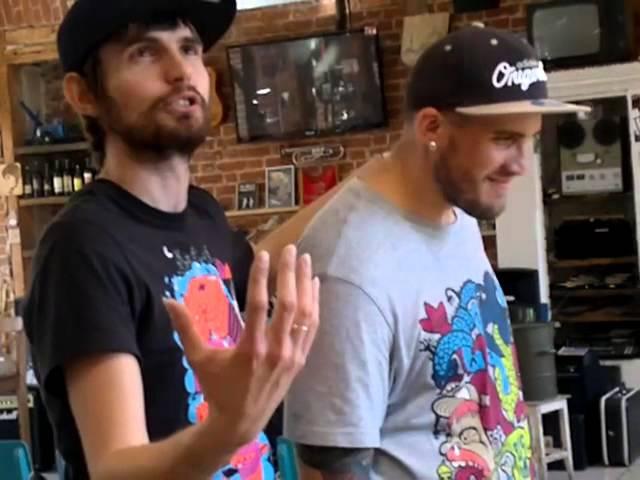 Noize MC и Паша - фристайл в музее соцбыта, г.Казань
