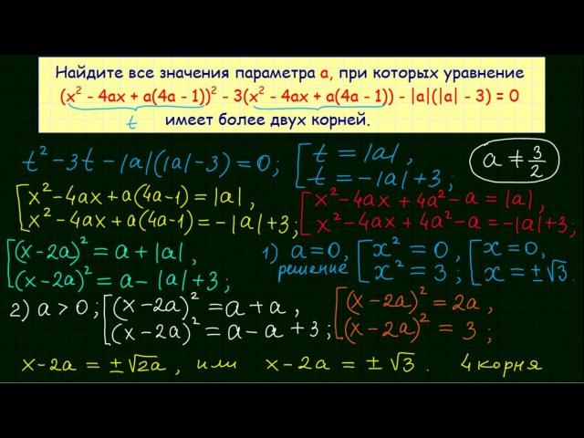 Задание 18 ЕГЭ по математике 18