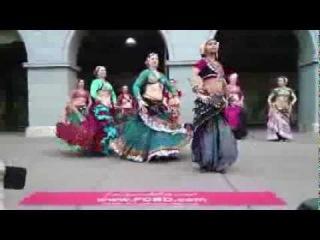 Blue Diamonds Belly Dance - Sunday Streets - 3/9/14 - Set 2