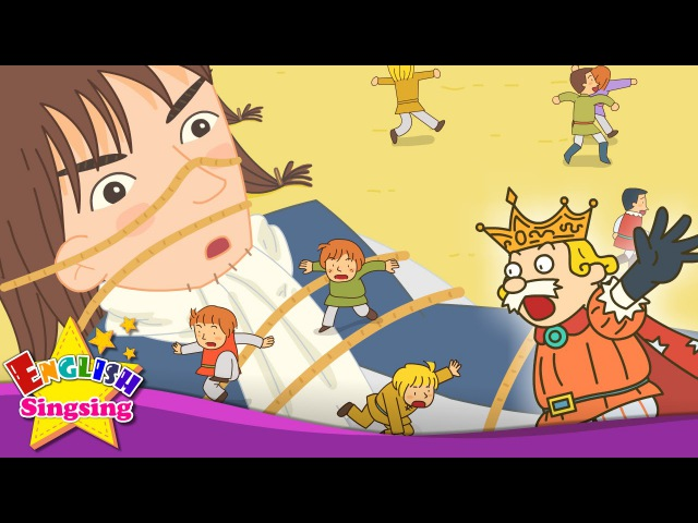 Gulliver's Travels What's this Nose Mouth this that English story for Kids