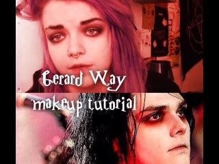 GERARD WAY | Makeup Tutorial (✿ ♥‿♥)