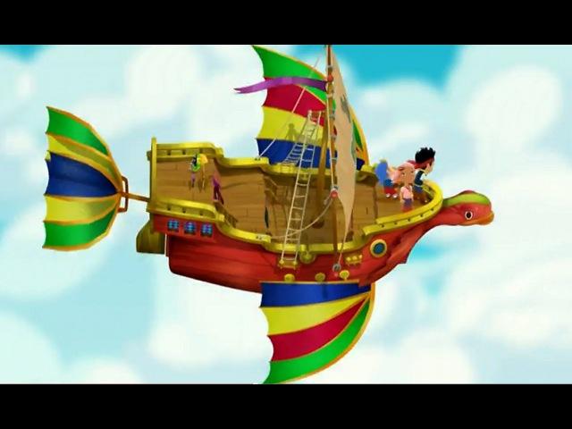 Джейк и пираты Нетландии Уплывающее сокровище Тайна Таинственного острова Серия 12 Сезон 2