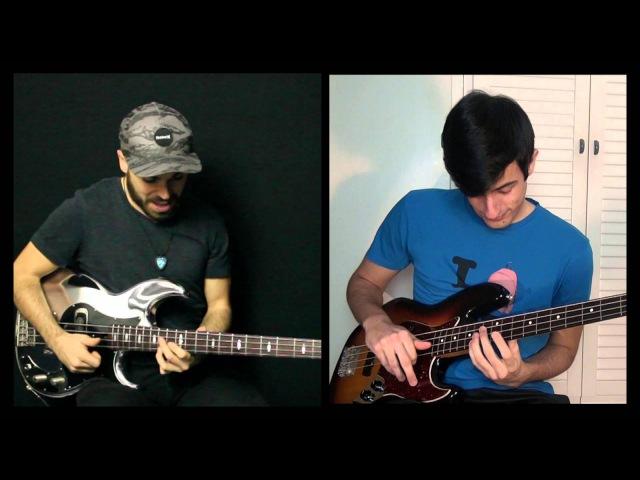 EPIC Slap Bass Battle Davie504 Miki Santamaria
