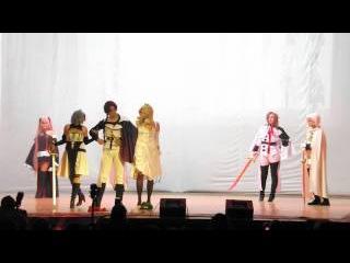 [DRAGONFEST 2015] Групповое косплей-дефиле Owari no Seraph