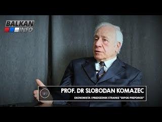 INTERVJU: Slobodan Komazec - Vučić uništava državu zato što ne zna ništa o ekonomiji! ()