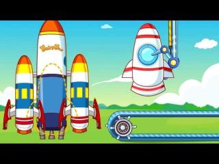 Развивающий мультик для детей Малыш космонавт