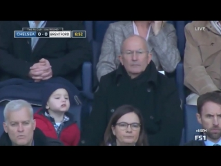 Tony pulis with his grandson