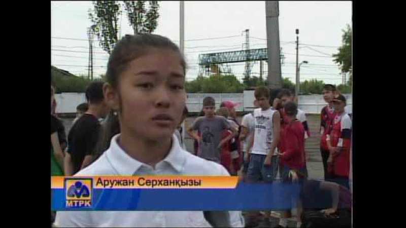 Петропавлда мектеп оқушылары есірткіге қарсы акцияға қатысуда