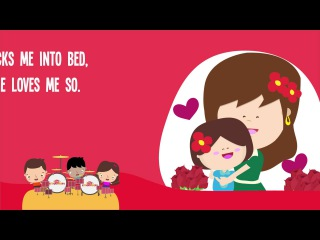 Mommy Love Song | Mother's Day | Kids Song | Nursery Rhyme | Lyrics