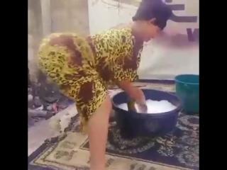 Шикарный твёрк от африканских хозяюшек