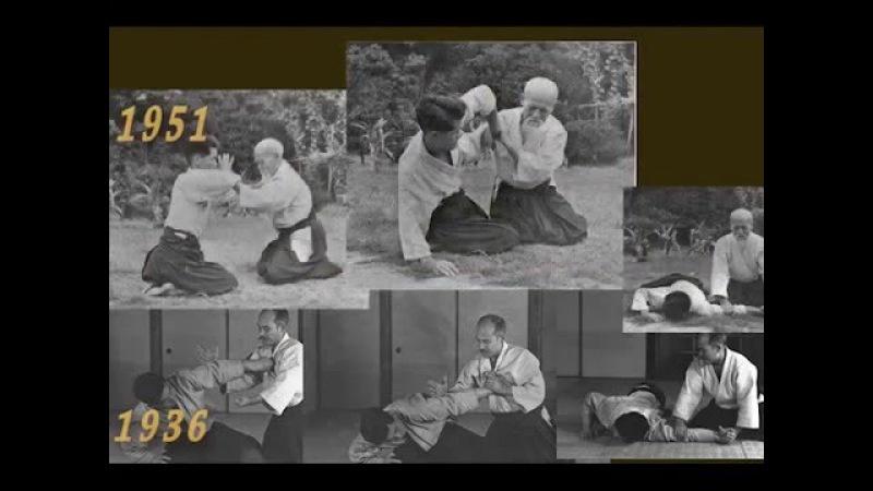 Aikido pre-guerra y post-guerra comparados