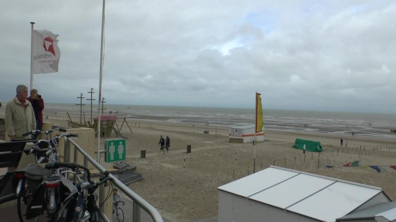 West Vlaandern, Belgie, Noorden Zee, De Haan