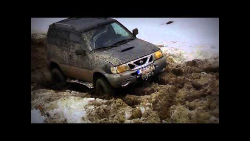 NISSAN TERANO 2 - 4X4 -OFF ROAD Brezno na snehu -snow