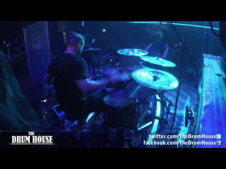 """Cryptopsy (Flo Mounier) - """"Two-Pound Torch"""" live drum cam"""