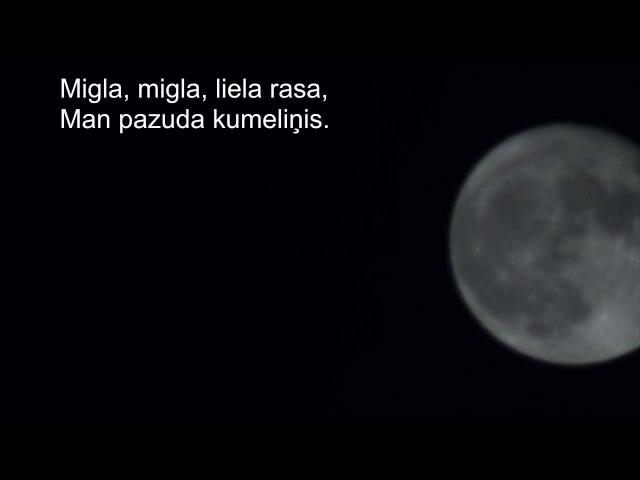 Mēness Ainars Mielavs-(Tumša nakte zaļa zāle)