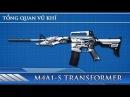 Tổng quan vũ khí M4A1-S Transformer