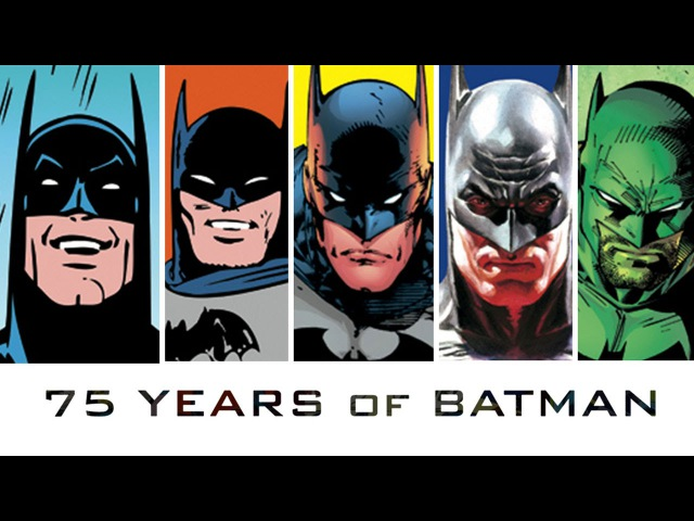 75 YEARS 75 BATMEN