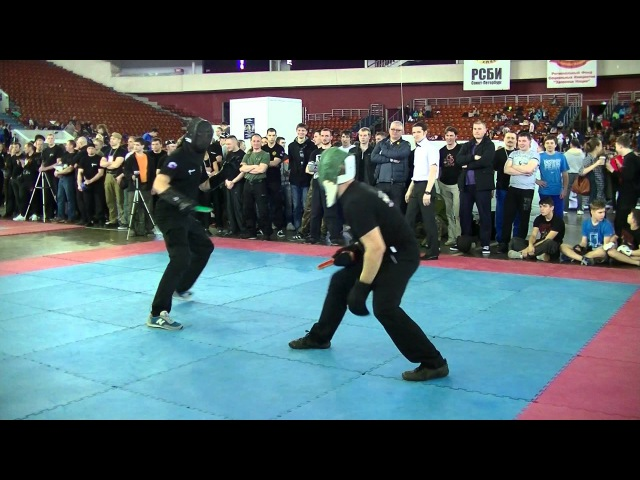 Два сильных бойца Олимпиада БИ Восток Запад 2015 Ножевой бой
