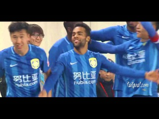 Ramirez & Alex Teixeira 2 goal Jiangsu Suning 3-0 Shandong Luneng