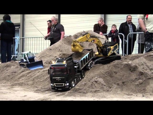 Erlebniswelt Modellbau Erfurt 2014 Modelltruck - Parcours