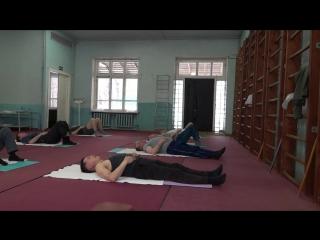 Лечебная физкультура при шейном остеохондрозе. Зарядка при остеохондрозе позвоночника