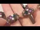 Sarubbest bracciale ed orecchini con tecnica RAW perline rocailles e perle in vetro economiche