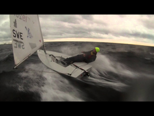 SKYLT - Extreme Laser Winter Sailing