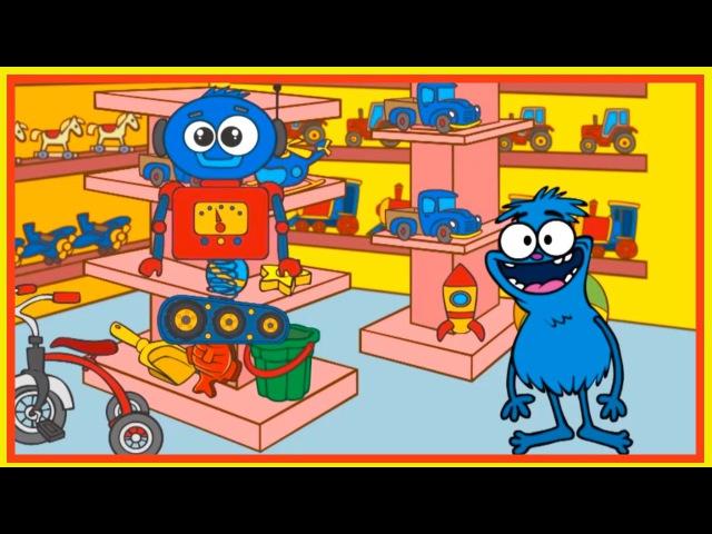 New Year Toys - ROBOT - Clown Choochas Interactive Cartoon Games!