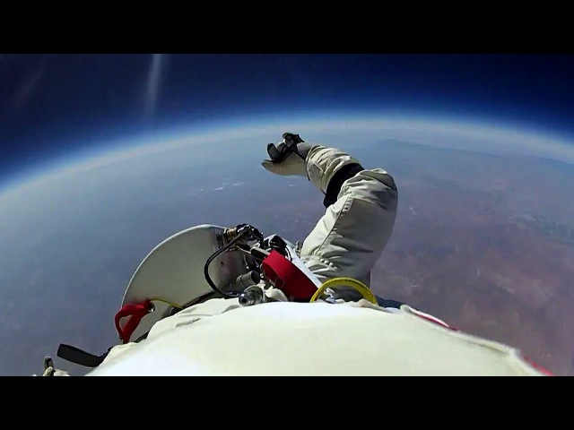 Jumping From Space Red Bull Space Dive BBC