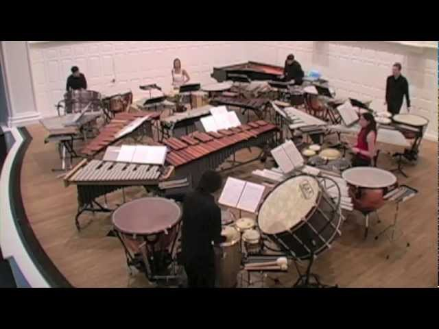 Xenakis Peaux Yale Percussion Group