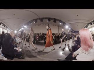 All Access at Jason Wu's New York Fashion Week Show(360 Video)
