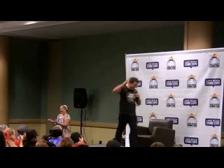 FULL HD John Barrowman Panel Long Beach Comic Con September 13 2015 Arrow Torchwood Penis Farting