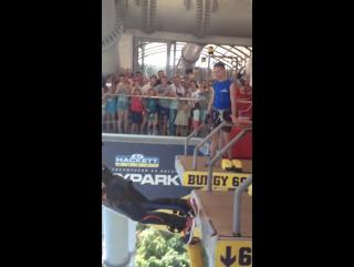 Sky park. Прыжок с самого длинного в мире подвесного моста.