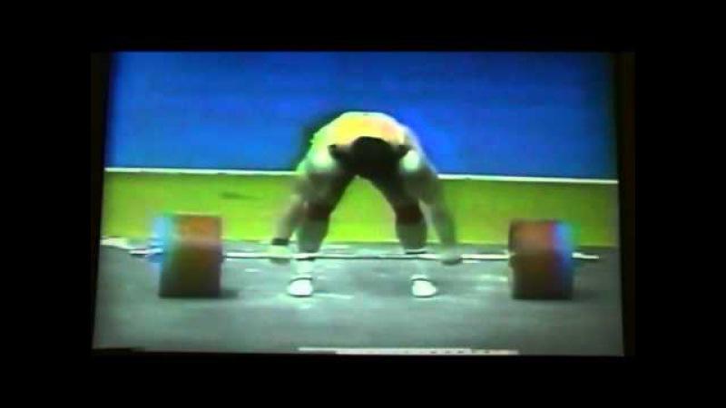 Aleksandr Kurlovich Clean and Jerk 266 Kg @ 1987 WWC