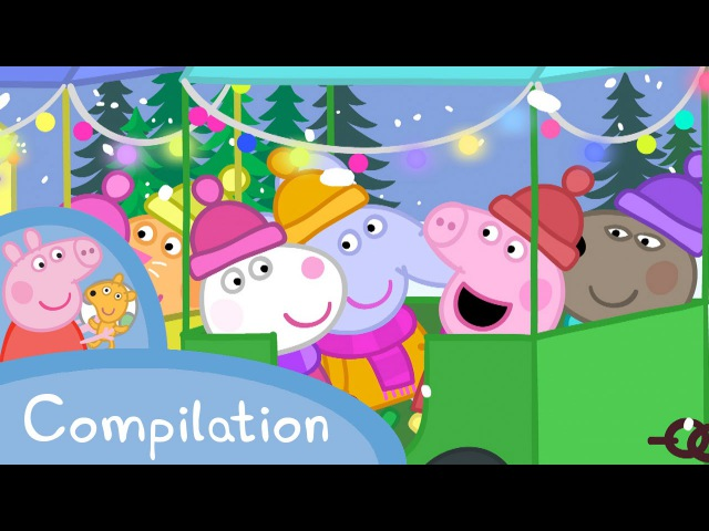 Peppa Pig Official Channel Peppa Pig 's Winter Compilation