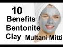 Benefits of Bentonite Clay Fuller's Clay Multani Mitti Skin