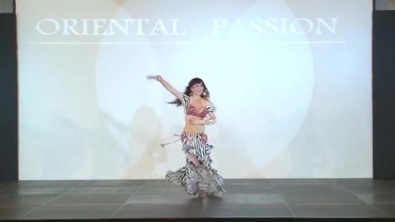 Magda Bellydance - Enta mein @ Oriental Passion Festival Greece