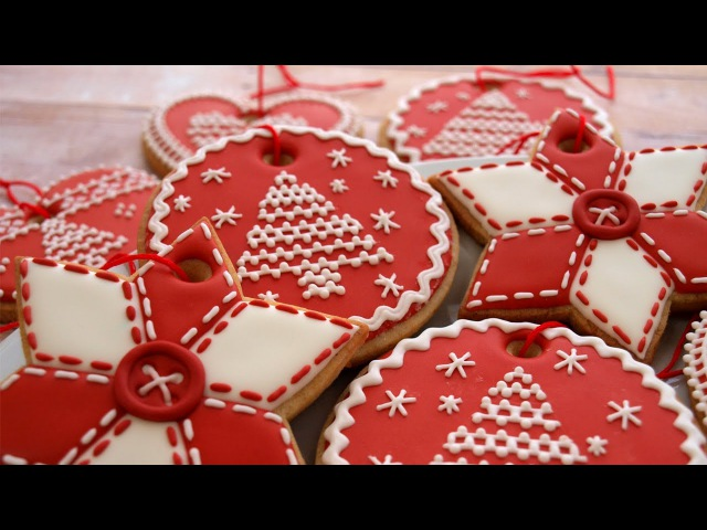 How To Decorate Christmas Cookie Ornaments Day 3 of the 12 Days of Christmas