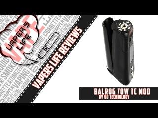 Обзор боксмода Balrog 70W TC от UD Technology. На каждый день..