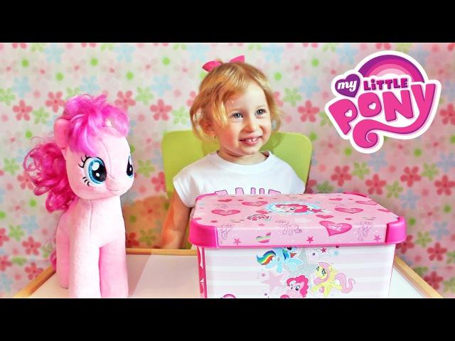 Май Литл Пони СЮРПРИЗ шоколадные яйца и набор Пинки Пай My Little Pony SURPRISE BOX Pinkie Pie Maker