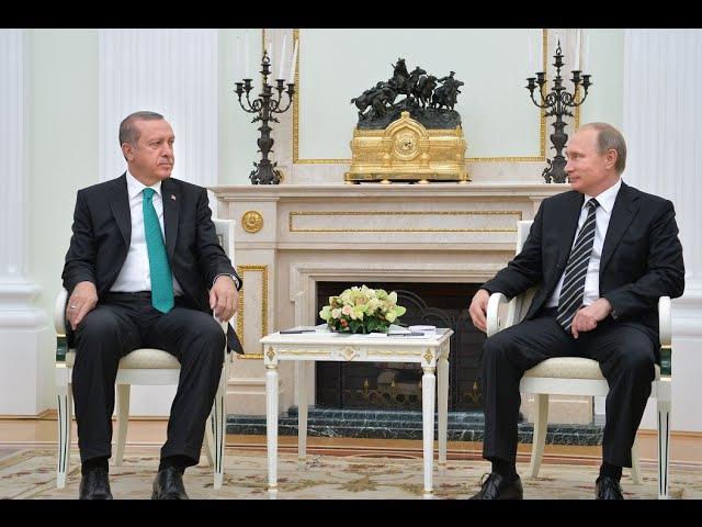 Live Putin und Erdogan halten bilaterales Treffen in St Petersburg ab