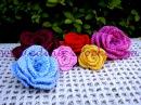 Flor em Croche Enrolada Parte 1