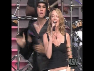 Kylie Minogue - Love At First Sight (Live On Jay Leno 2002)