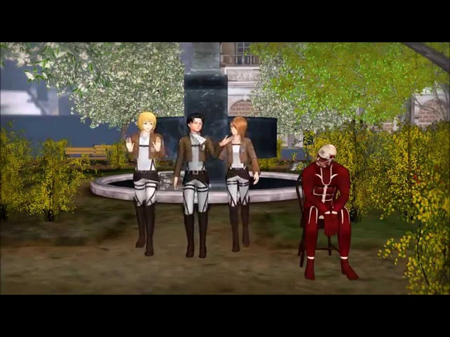 [MMD] Attack On Titan - How We Fight Tall People