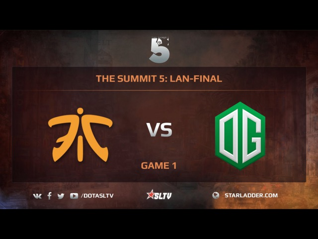 Fnatic vs OG Game 1 The Summit 5