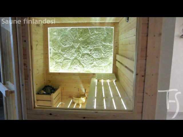 Saune su misura per casa progettazione e realizzazione - THS