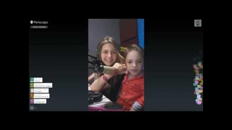 Данил Плужников победитель Голос Дети на радио kidsfm продолжение