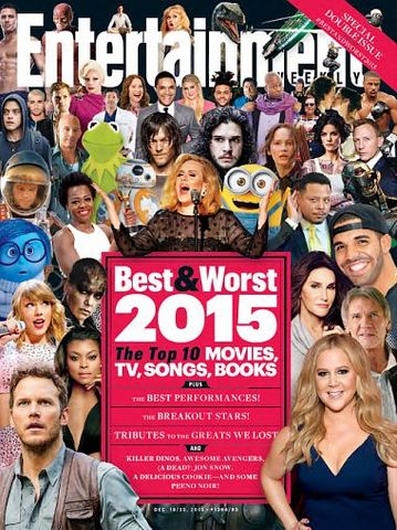 Entertainment Weekly – 18 December 2015